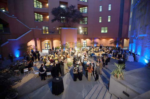 California Museum Courtyard - Great party location!